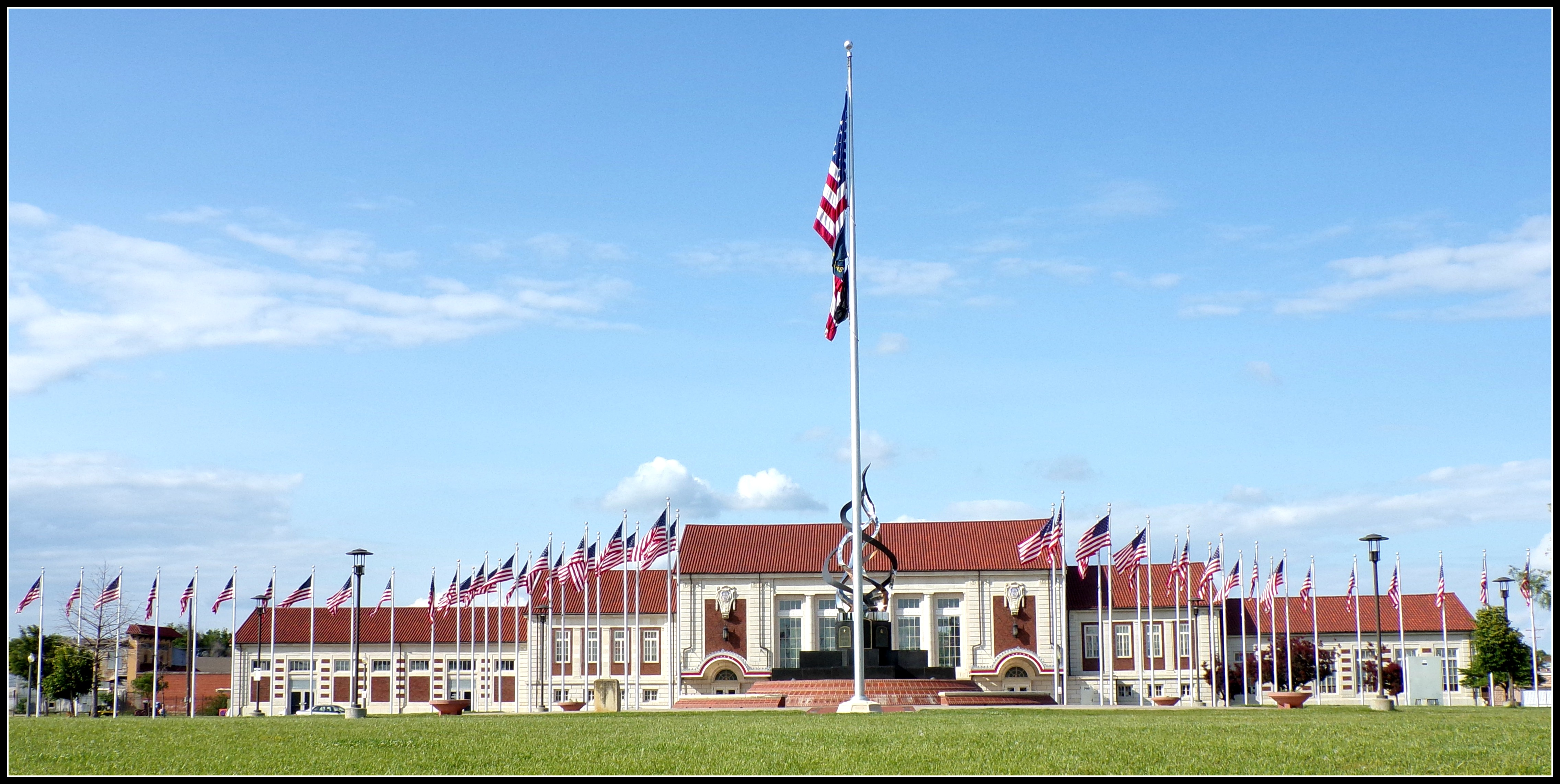 The great overland station in topeka ks